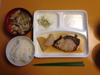 20141106_鰤大根と豚汁.JPG