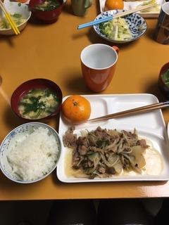 20161202_お肉と野菜炒め.JPG